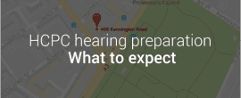 What to expect when attending your hcpc hearing