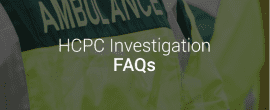 HCPC Investigations from Richard Nelson LLP